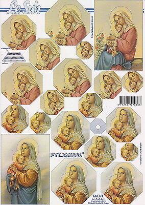 Pyramiden Bogen-Maria mit Kind-LeSuh-630174