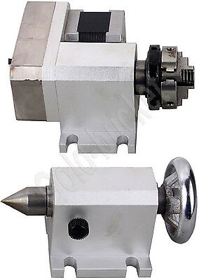 Router Rotational Axis Rotary F A-axis 4th-axis And Tailstock For Cnc Engraving