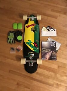Top of the line Sector 9 Downhill Longboard Setup