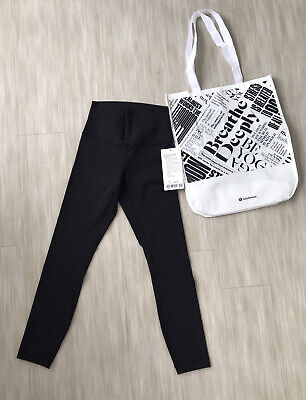 "NWT lululemon wunder under HR Tight 25"" Size 4"