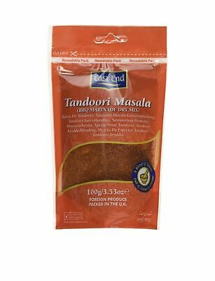 East End Tandoori Masala 100g Zipped BBQ Marinade Dry Mix ** x2...