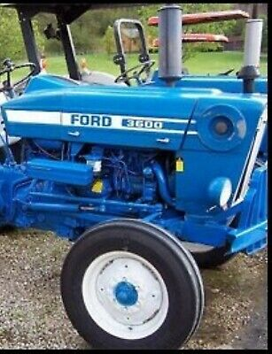 Hood Decal Kit For A Ford Tractor 3600