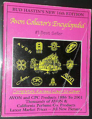 AVON ENCYCLOPEDIA VALUE GUIDE COLLECTOR'S BOOK Perfume Decanter Bottle sample ++