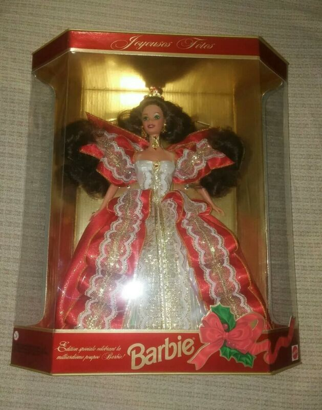 """1997 Holiday Barbie """"Joyeuses Fetes"""" Special Edition"""
