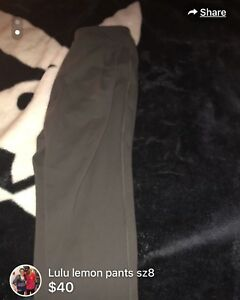Lulu lemon sz 8 yoga  dress pants