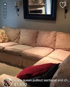 Rowe Sectional & chair