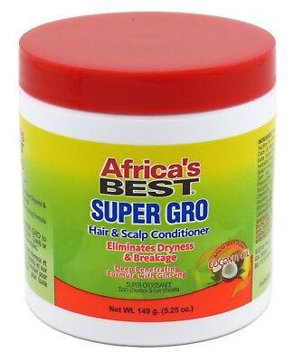 AFRICAS BEST GRO SUPER HAIR & SCALP CONDITIONER 5.25 - Africas Best Super Gro