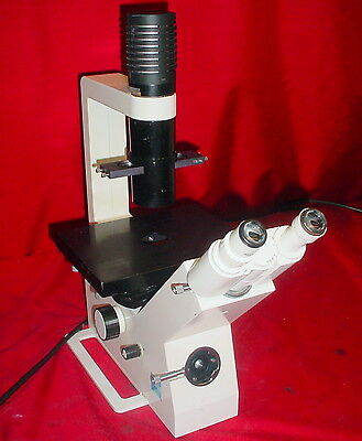 Zeiss Telaval 31 Inverted Phase Contrast Microscope W5x 10x 20x Achromat Ph