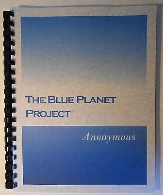 The Blue Planet Project   An Inquiry Into Alien Life Forms By Anonymous  Ufos