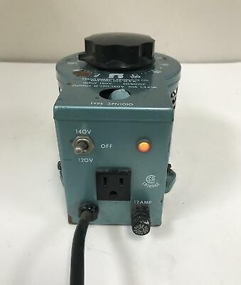 Staco 3pn1010 Variable Autotransformer