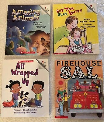 Used, Lot 4 Rookie Readers Books Learning to Read Classroom Homeschool Library for sale  Saint Augustine