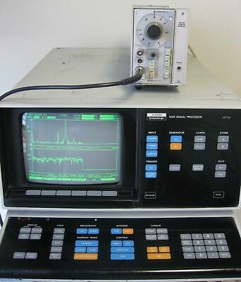 Schlumberger Solartron 1200 Signal Analyzer Tested
