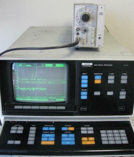 Schlumberger Solartron 1200 Signal Analyzer TESTED!