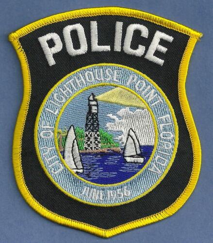 LIGHTHOUSE POINT FLORIDA POLICE SHOULDER PATCH