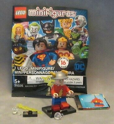 LEGO Minifigures DC Comics Super Heroes Series (71026)-Flash Jay Garrick minifig