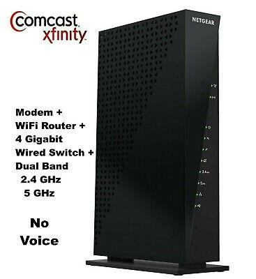 XFINITY/COMCAST Netgear C6300 AC1750 WiFi Dual Band Cable Modem Gigabit Router