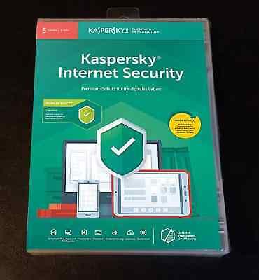 Kaspersky Internet Security Multi Device 5PC 2Jahre 2019 NICHT VORAKTIVIERT  gebraucht kaufen  Versand nach Austria