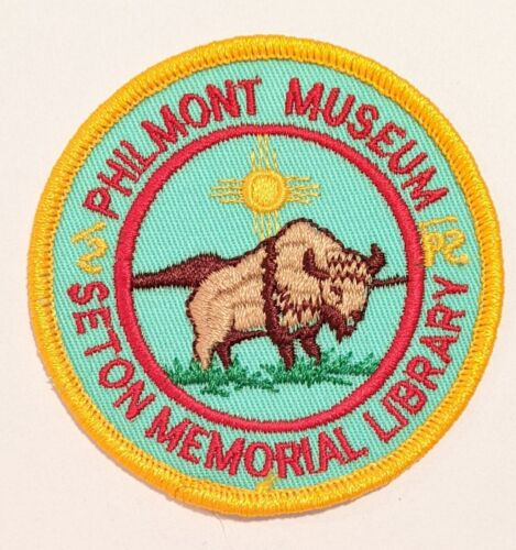 Philmont Scout Ranch Boy Scouts Seton Memorial Library and Museum patch