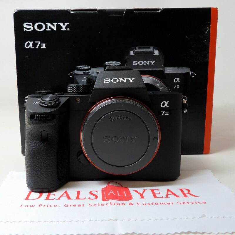 Sony Alpha A7 Iii Mirrorless Digital Camera (body Only)  Ilce7m3/b