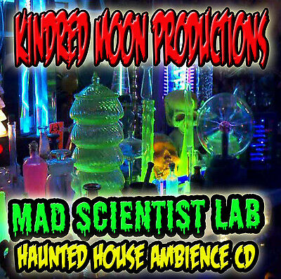 Mad Laboratory Halloween (Kindred Moon MAD SCIENTIST LAB Halloween  Haunted House CD)