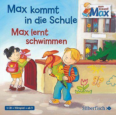 Schöne Hörbuch-CD ab 3 Jahre: Max kommt in die Schule / Max lernt schwimmen