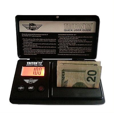 My Weigh Triton T2 200-g x 0.01-g Pocket Scales, SCMT2-200 New