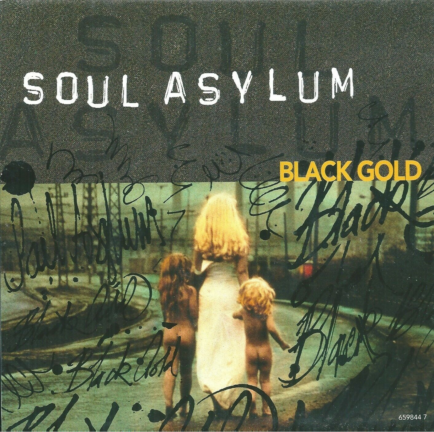 "Soul Asylum – Black Gold Vinyl 7"" P/S Single UK Columbia 659844 7 1993 Ex"