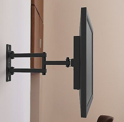 Articulating TV Bracket Tilting Swivel Wall Mount 32 40 42 43 46 47 In LED LCD