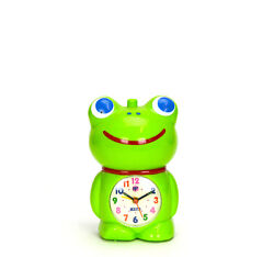 Adorable Curious Frog Kids Musical Alarm Clock - Fun Children Room Decoration