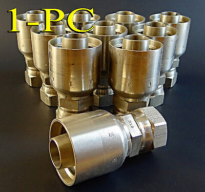 Parker Stainless Steel Hydraulic Fitting 10671-12-12c 37 316 Ss Parkrimp Swivel