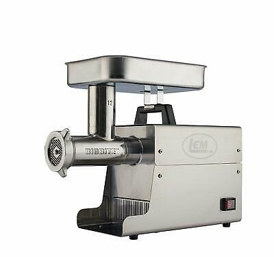New Lem Products 17801 Big Bite 12 .75hp Stainless Steel Electric Meat Grinder