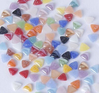 100x 3mm mixed ceramic triangles