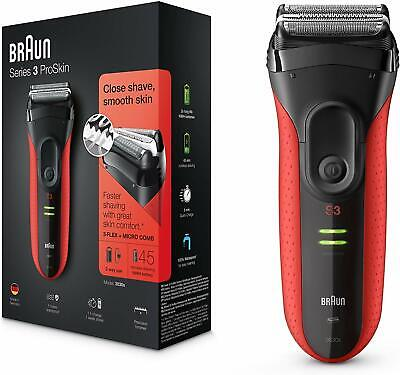 Braun Serie 3 ProSkin 3030 S Afeitadora Eléctrica Hombre de Precisión Recargable