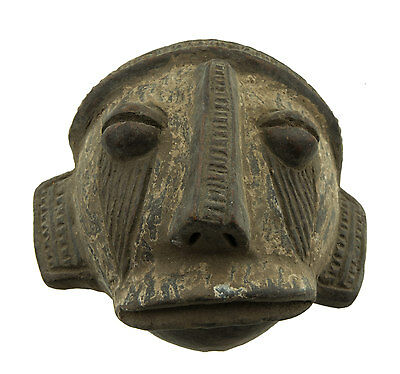 Mask African Passport Terracotta Art First Tribale Af 760 -B2B
