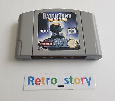 Nintendo 64 N64 - Battletanx Global Assault - PAL