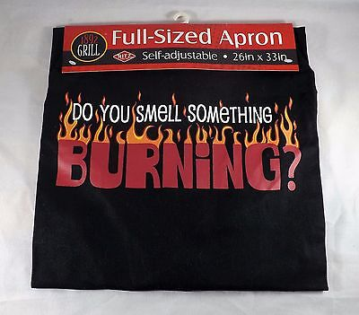 Ritz Barbeque Apron -- NEW -- Do You Smell Something Burning