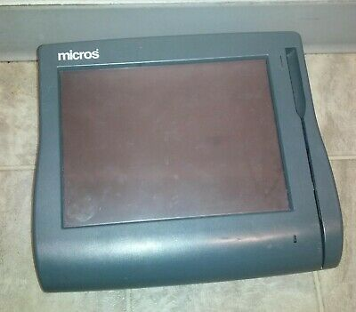 Micros Workstation 4 400614-001 Touch Screen Pos System Unit - Parts Or Repair