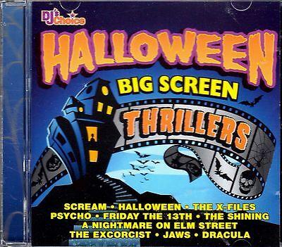 Halloween Horror Movie Soundtracks (DJ's Choice HALLOWEEN BIG SCREEN THRILLERS: HORROR MOVIE SOUNDTRACK MUSIC)