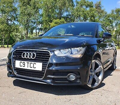2012 AUDI A1 S LINE 3 DOOR 1.6 TDI 58K ZERO ROAD TAX NO RESERVE AUCTION