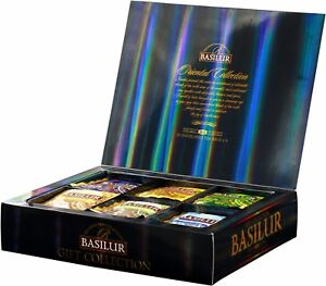Basilur Gift Box  - Oriental Collection Assorted 60 Ceylon Tea Bags