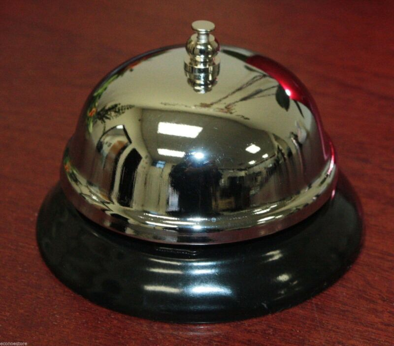 New Ring 4 Service Call Bell Desk Kitchen Hotel Counter Reception Restaurant Bar