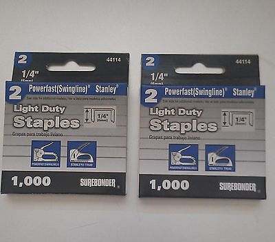 2000- 14 Staples For The Swingline 101- Vintage Staplegun