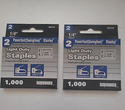 2000- 14 Staples For The Swingline 101- Vintage Staplegun