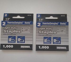 Swingline Staples - 2000 - 1/4