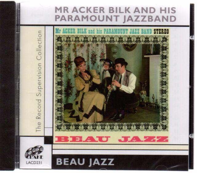 Mr Acker Bilk & His Paramount Jazz Band - Beau Jazz (brand new CD 2006)
