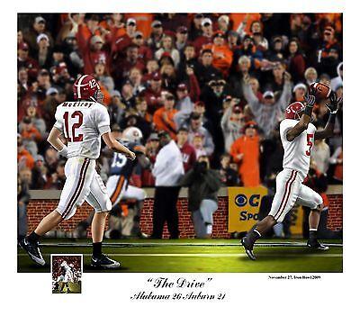 2009 Alabama Crimson Tide Vs Auburn Football S N Print