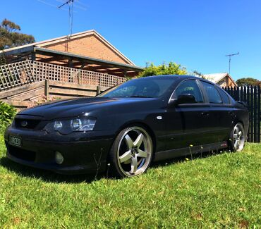 FORD BA XR8 Cowes Bass Coast Preview