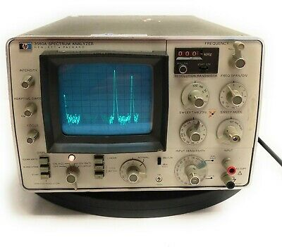 Vintage Hp 3580a Audio Frequency Digital Storage Spectrum Analyzer 5hz To 50khz