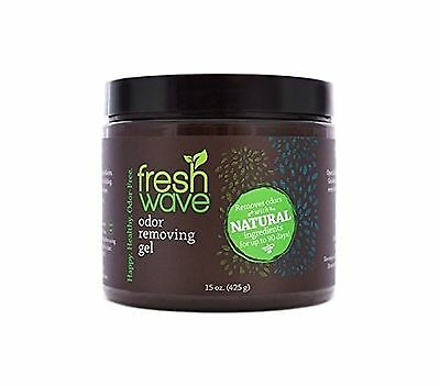 Fresh Wave Odor Eliminating Crystals, 15-Ounce Jar (Pack of 4)