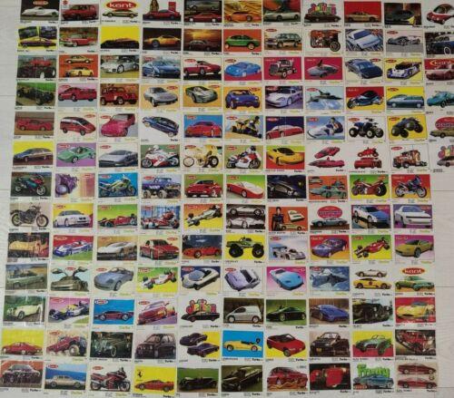 KENT TURBO SET 138 pcs Bubble Gum Wrappers Inserts Collection Vintage GUM